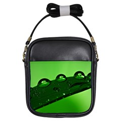 Waterdrops Girl s Sling Bag