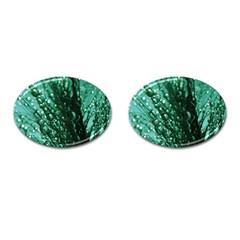 Waterdrops Cufflinks (Oval)