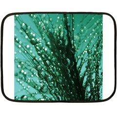 Waterdrops Mini Fleece Blanket (two Sided)