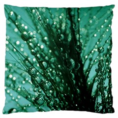 Waterdrops Large Cushion Case (single Sided)