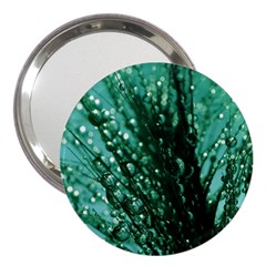 Waterdrops 3  Handbag Mirror