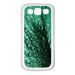 Waterdrops Samsung Galaxy S3 Back Case (White)