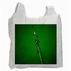 Waterdrops Recycle Bag (one Side)