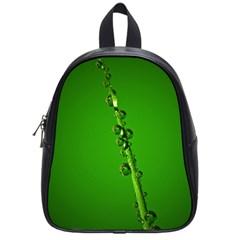 Waterdrops School Bag (small)