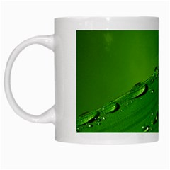Waterdrops White Coffee Mug