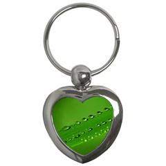 Waterdrops Key Chain (Heart)