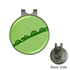 Waterdrops Hat Clip with Golf Ball Marker