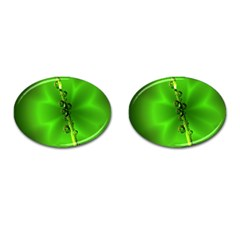 Waterdrops Cufflinks (Oval)