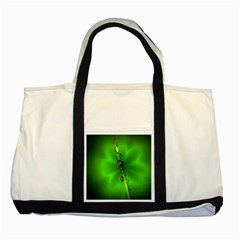Waterdrops Two Toned Tote Bag