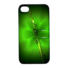 Waterdrops Apple iPhone 4/4S Hardshell Case with Stand