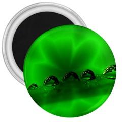 Drops 3  Button Magnet