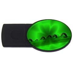 Drops 2GB USB Flash Drive (Oval)