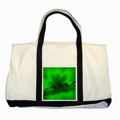 Drops Two Toned Tote Bag