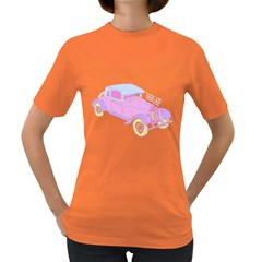 if classic car wanna be colorful Womens' T-shirt (Colored)