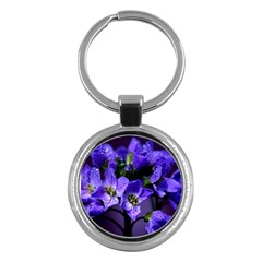 Cuckoo Flower Key Chain (Round)