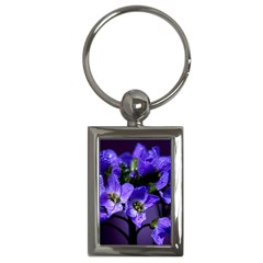 Cuckoo Flower Key Chain (Rectangle)