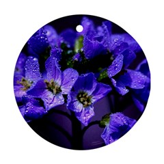Cuckoo Flower Round Ornament (Two Sides)