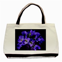 Cuckoo Flower Twin-sided Black Tote Bag