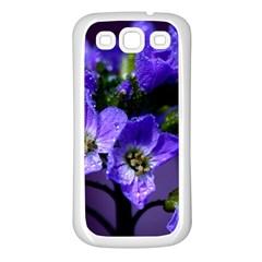 Cuckoo Flower Samsung Galaxy S3 Back Case (White)