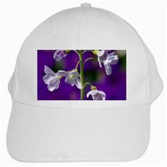 Cuckoo Flower White Baseball Cap