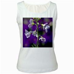 Cuckoo Flower Womens  Tank Top (white)