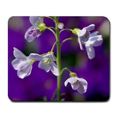 Cuckoo Flower Large Mouse Pad (Rectangle)