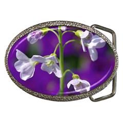Cuckoo Flower Belt Buckle (Oval)