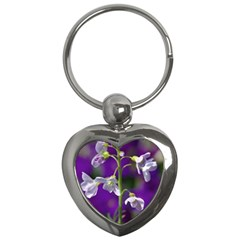 Cuckoo Flower Key Chain (Heart)