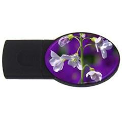 Cuckoo Flower 1GB USB Flash Drive (Oval)