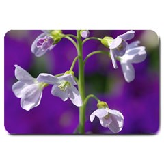 Cuckoo Flower Large Door Mat