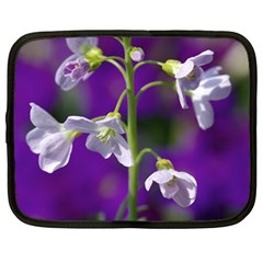 Cuckoo Flower Netbook Case (Large)