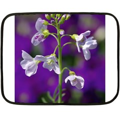 Cuckoo Flower Mini Fleece Blanket (Two Sided)