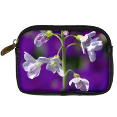 Cuckoo Flower Digital Camera Leather Case