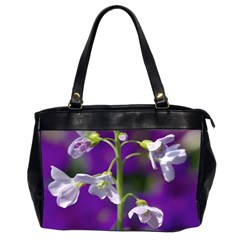 Cuckoo Flower Oversize Office Handbag (Two Sides)