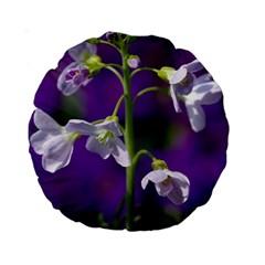 Cuckoo Flower 15  Premium Round Cushion