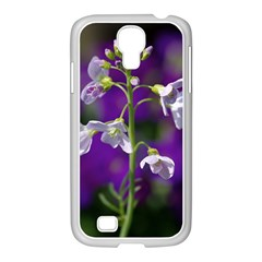 Cuckoo Flower Samsung GALAXY S4 I9500/ I9505 Case (White)