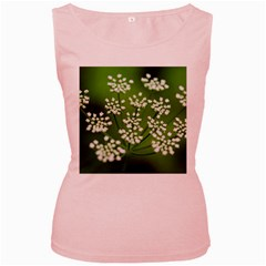 Queen Anne s Lace Womens  Tank Top (Pink)