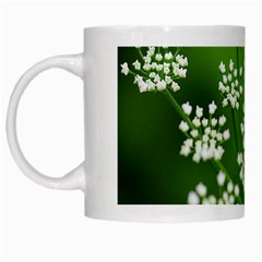 Queen Anne s Lace White Coffee Mug