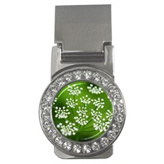 Queen Anne s Lace Money Clip (cz)