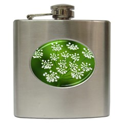 Queen Anne s Lace Hip Flask