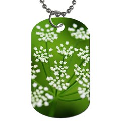 Queen Anne s Lace Dog Tag (two Sided)