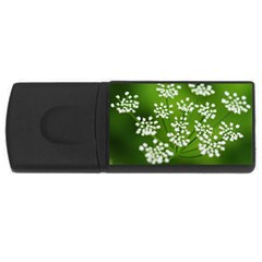 Queen Anne s Lace 1GB USB Flash Drive (Rectangle)
