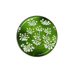 Queen Anne s Lace Golf Ball Marker (for Hat Clip)