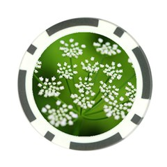 Queen Anne s Lace Poker Chip