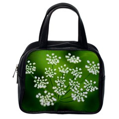 Queen Anne s Lace Classic Handbag (One Side)