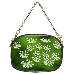 Queen Anne s Lace Chain Purse (One Side)