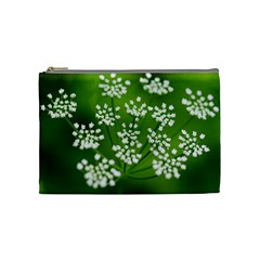 Queen Anne s Lace Cosmetic Bag (medium)