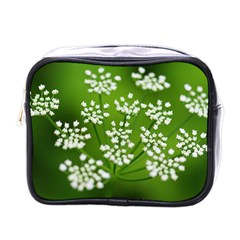 Queen Anne s Lace Mini Travel Toiletry Bag (One Side)