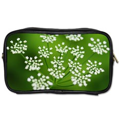 Queen Anne s Lace Travel Toiletry Bag (Two Sides)