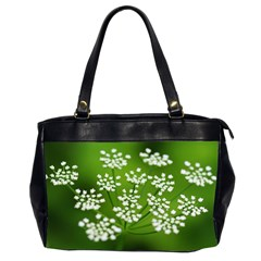 Queen Anne s Lace Oversize Office Handbag (two Sides)